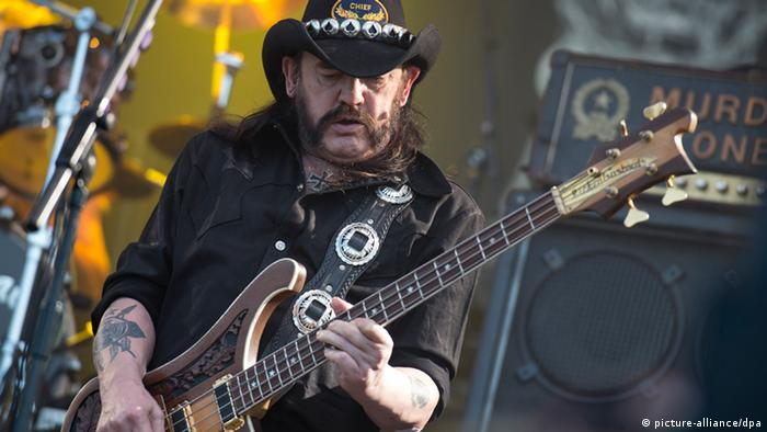 Wacken Open Air: Motöthead-Fronter Lemmy Kilmister (Foto: dpa)
