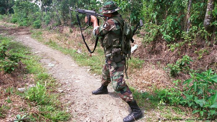 Kolumbien Paramilitär Archivbild 2000