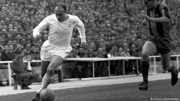Alfredo Di Stefano 15.04.1962 Madrid (picture-alliance/dpa)