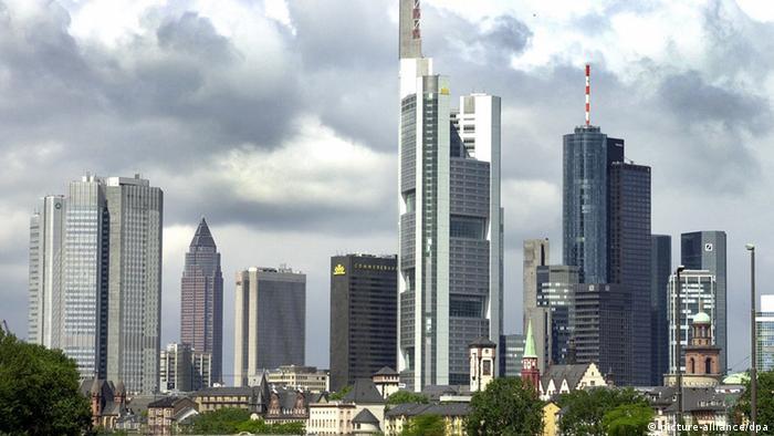 Οι ουρανοξύστες των τραπεζών στη Φρανκφούρτη