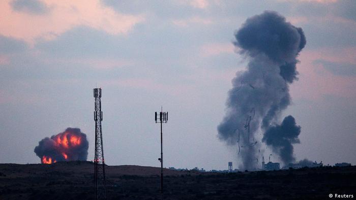 Konflikt Gazastreifen Luftangriffe 8.7.2014