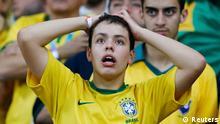 Fußball WM 2014 Halbfinale Deutschland Brasilien Fans