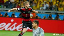 Fußball WM 2014 Halbfinale Deutschland Brasilien Jubel