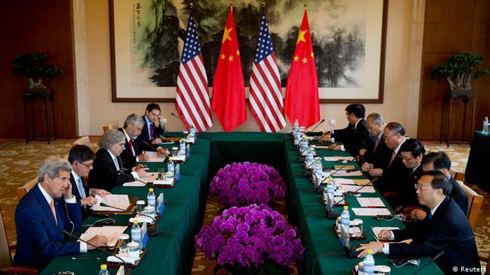USA China Konferenz Klimawandel Treffen