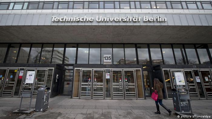 Technische Universität Berlin Außenansicht (picture-alliance/dpa)