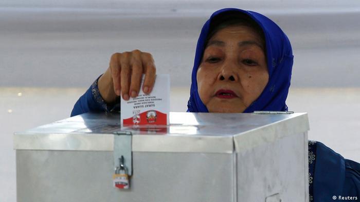 Indonesien Präsidentschaftswahlen 09.07.2014