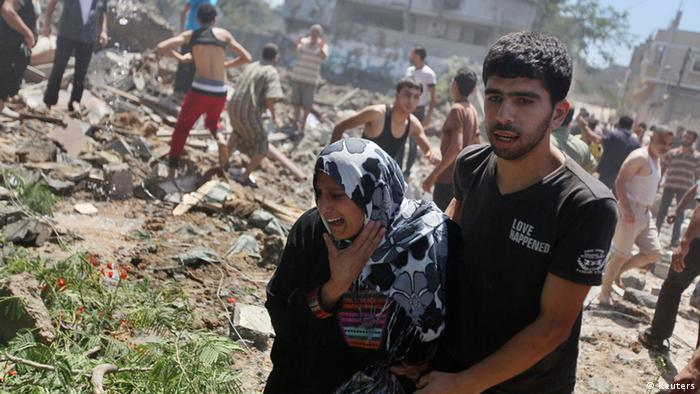 Israel Angriff auf Gaza 09.07.2014