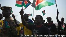 Südsudan Feierlichkeiten Unabhängigkeit