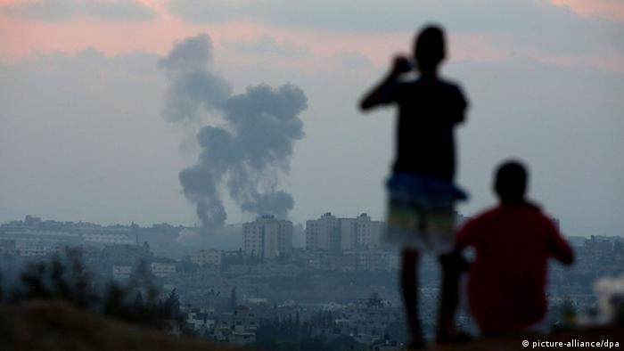 Bildergalerie Konflikt im Nahen Osten (picture-alliance/dpa)