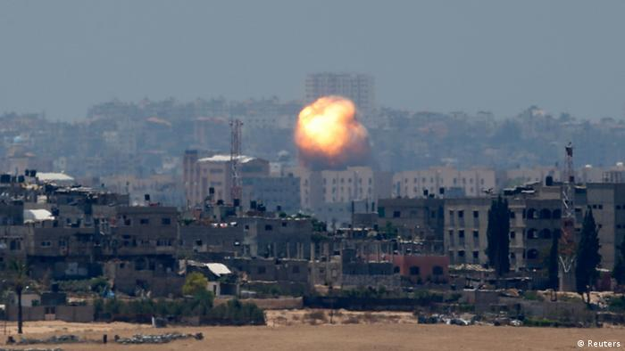 Israel attack on Gaza 09.07.2014
