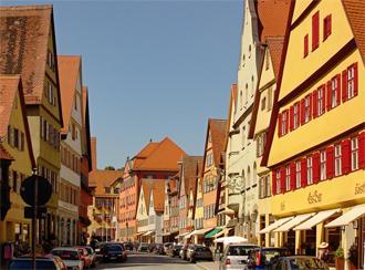 El centro de la ciudad ofrece una vida con sabor a tradición.