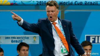Fußball WM 2014 Halbfinale Niederlande Argentinien Trainer