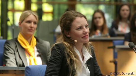 GMF Sarah Harrison (DW/K. Danetzki)