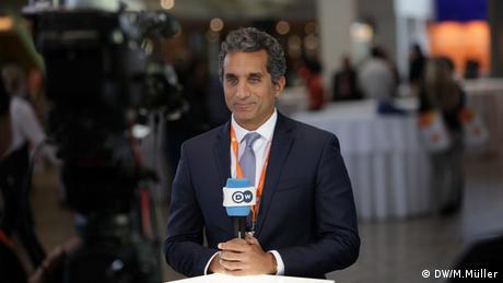 GMF Bassem Youssef (DW/M.Müller)