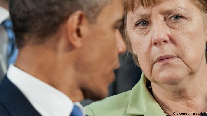 Merkel und Obama in Mexiko 18.06.2012