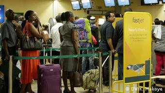 Tansania Julius Nyerere International Airport Fluggäste
