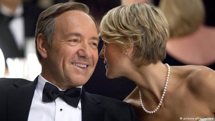 Kevin Spacey as Francis J. Underwood and Robin Wright (picture-alliance/dpa)