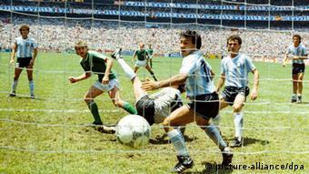 Fußball-WM 86: Finale: Rudi Völlers 2:2-Ausgleich