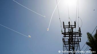 Raketenangriffe von Gaza auf Sderot 10.7.2014