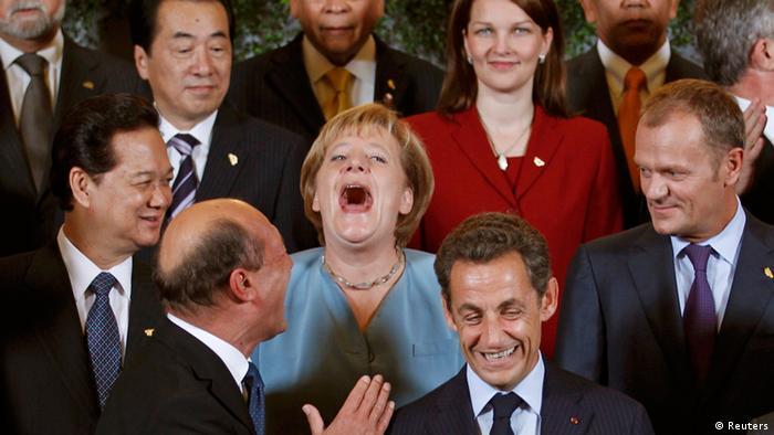 Foto oficial de líderes mundiais