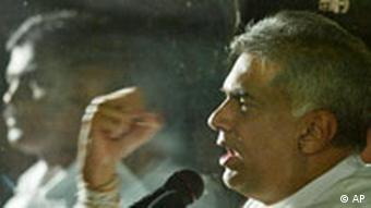 Ranil Wickremesinghe, the leader of the main opposition United National Party