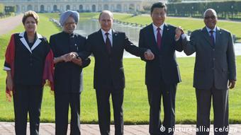 Symbolbild BRICS Staaten ARCHIVBILD