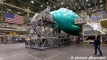 Produktion Boeing Everett Washington