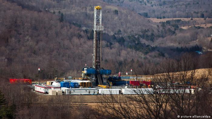 Symbolbild Fracking Anlage