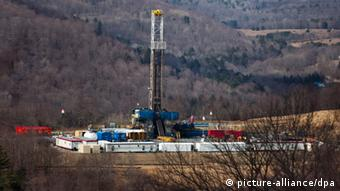 Fracking Anlage in den USA (Foto: Picture alliance).