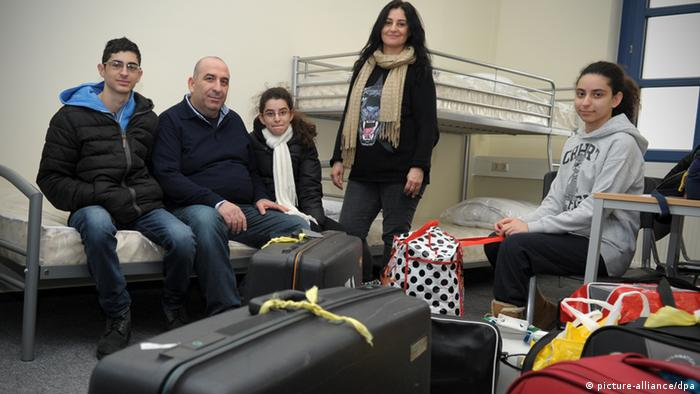 Сирийские беженцы во Франкфурте-на-Одере