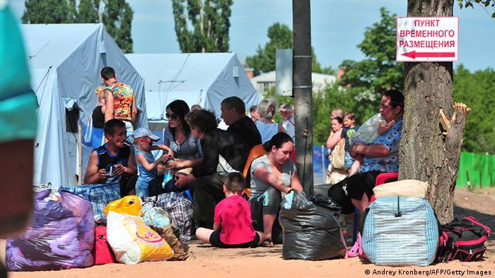 Ukraine Flüchtlinge in Russland 02.07.2014 (Andrey Kronberg/AFP/Getty Images)