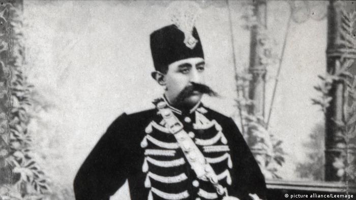 مظفرالدین شاه قاجار. تاریخ عکس نامشخص.