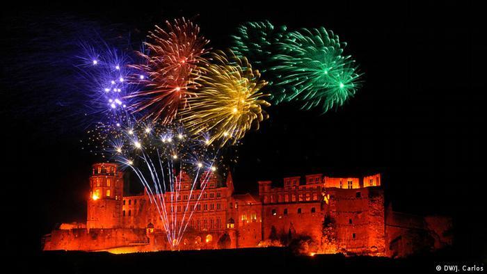 Schloss Heidelberg Feuerwerk