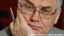 """MOSCOW, RUSSIA. JUNE 25, 2010. Lev Gudkov, head of the Levada Center, attends an international conference titled: """"The European Way for Russia: A Delusion or A Natural Choice?"""" (Photo ITAR-TASS / Valery Sharifulin)"""