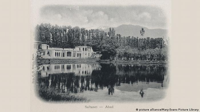 کاخ سلطنت آباد. تاریخ ۱۹۰۳ میلادی.