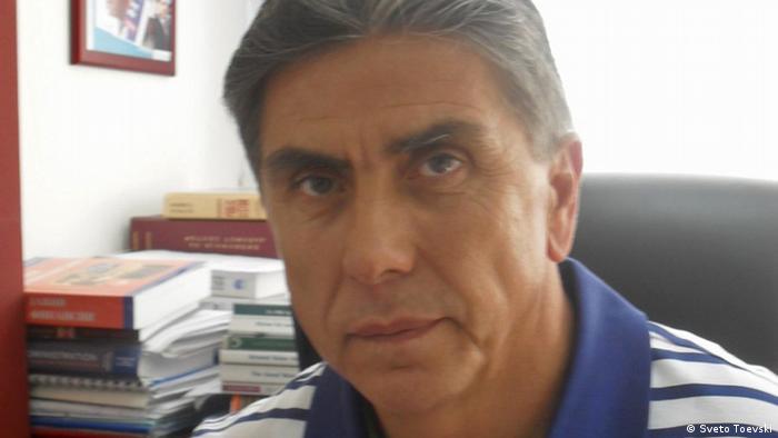 Abdulmenaf Bedzeti Akademiker Mazedonien