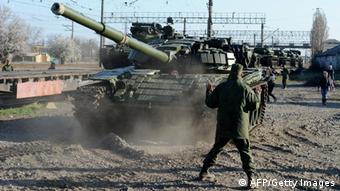 Russische Panzer (AFP/Getty Images)
