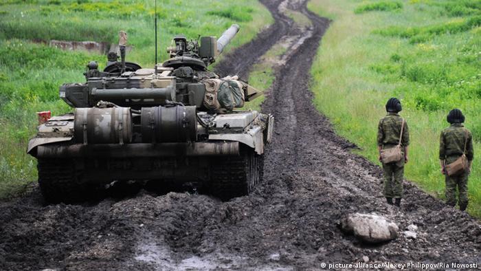 Російські військові на навчаннях (фото з архіву)