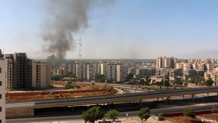Libyen Gefechte am Flughafen in Tripolis 13.07.2014