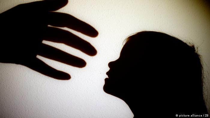 Symbolic picture of child abuse