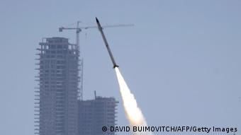 Israel Rakettenangriff Tel-Aviv