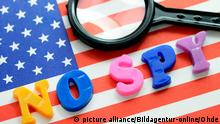 Symbolbild US-Spionage