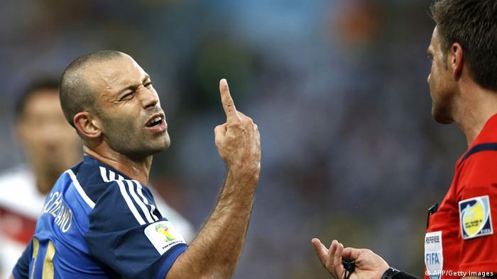 Fußball WM Finale Argentinien Deutschland (AFP/Getty Images)