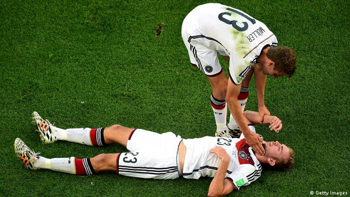 Fußball WM Finale Argentinien Deutschland (Getty Images)