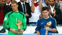 Fußball WM 2014 Finale Argentinien Deutschland