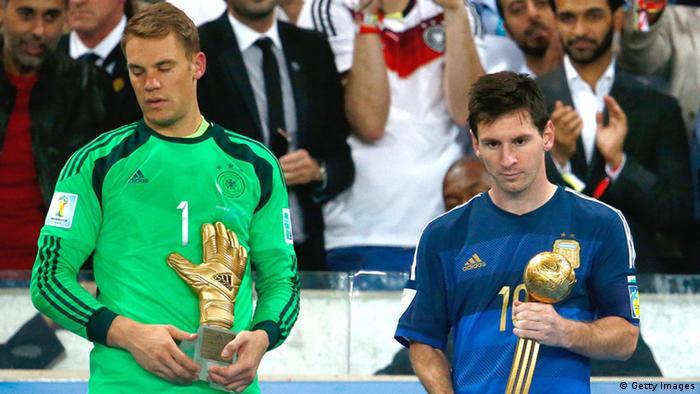 Manuel Neuer Messi