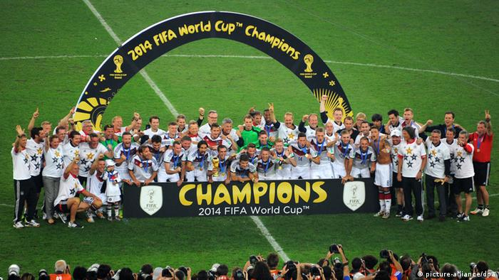 World And Outer Space Reacts To Germany S World Cup Win