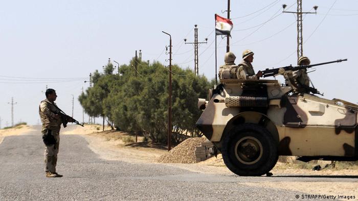 Ägypten Soldaten bei Rafah Archiv 2013