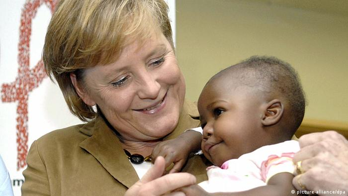 Bildergalerie Merkel mal anders - wir gratulieren zum 60. (picture-alliance/dpa)