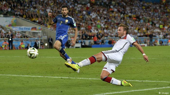 Deutschland Argentinien Finale Mario Götze Tor